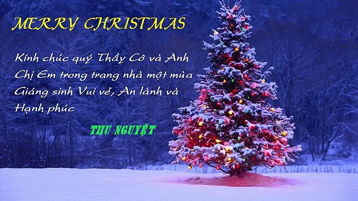 Chuc Mung Giang Sinh Thu Nguyệt Chúc Giáng Sinh