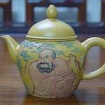 ấm trà  chất liệu đất tử sa