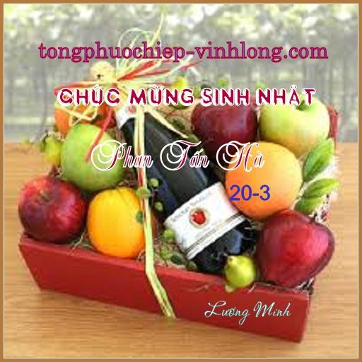 Chúc mừng sinh nhật Phan Tấn Hà