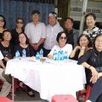 Hình ảnh lễ viếng thân mẫu Lương Minh