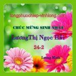 Chúc mừng sinh nhật Lương Thị Ngọc Hải