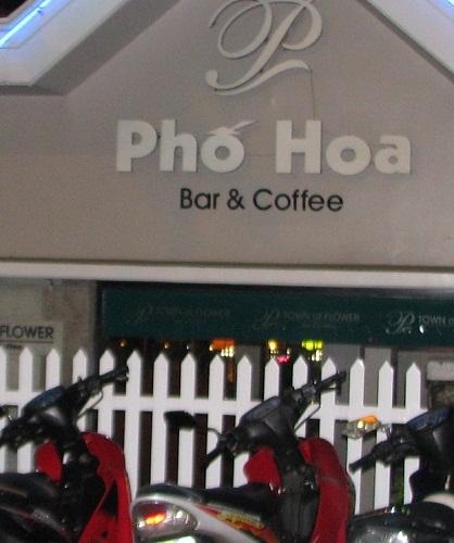 cafe Pho Hoa