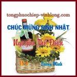 Chúc mừng sinh nhật Nguyễn Thế Điển