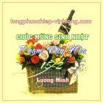 Chúc mừng sinh nhật thầy Phạm Văn Hòa