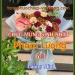 Chúc mừng sinh nhật Phạm Lượng