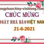 Chúc mừng Ngày Nhà Báo Việt Nam